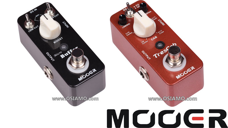 Two new pedals from Mooer!
