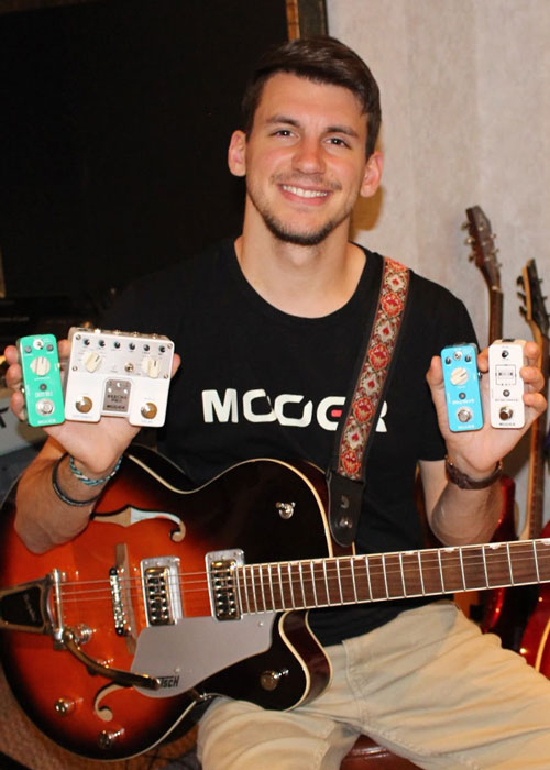 Michael Fenimore, Osiamo and Mooer endorsee