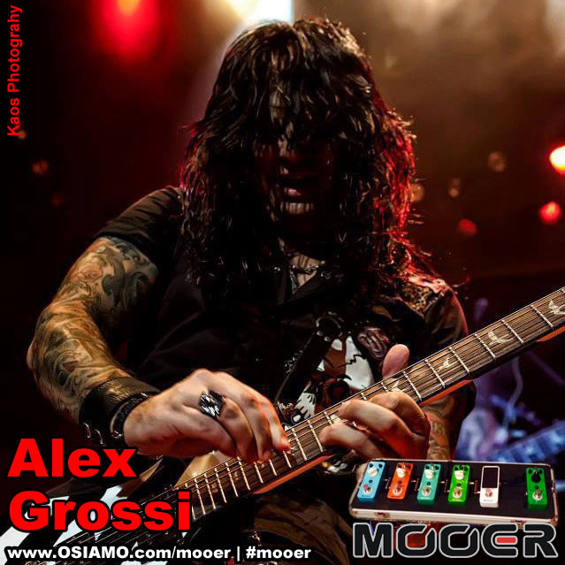 Alex Grossi Mooer endorser