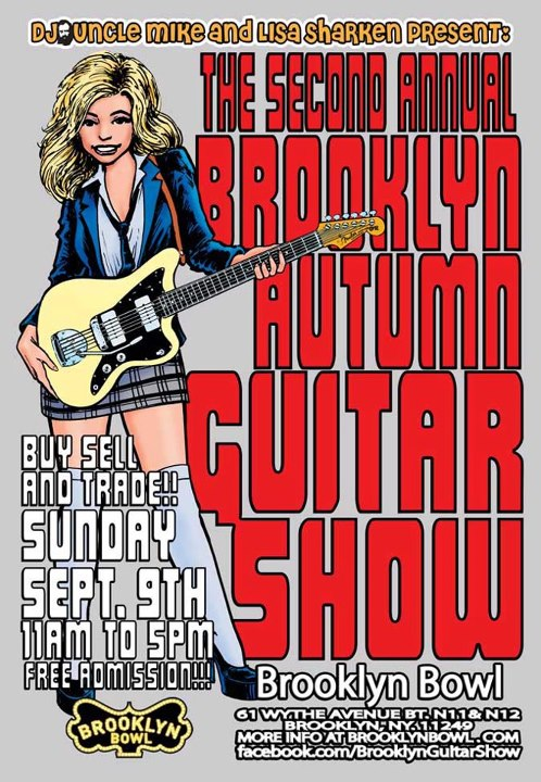 Brooklyn Autumn Guitar Show 2012